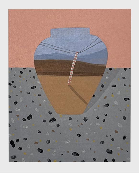 Obra del proyecto del curso online de pintura terminada