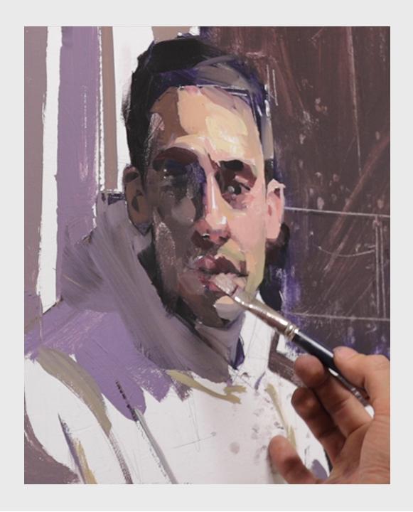 Obra final del curso de pintura de bodegones con gouache