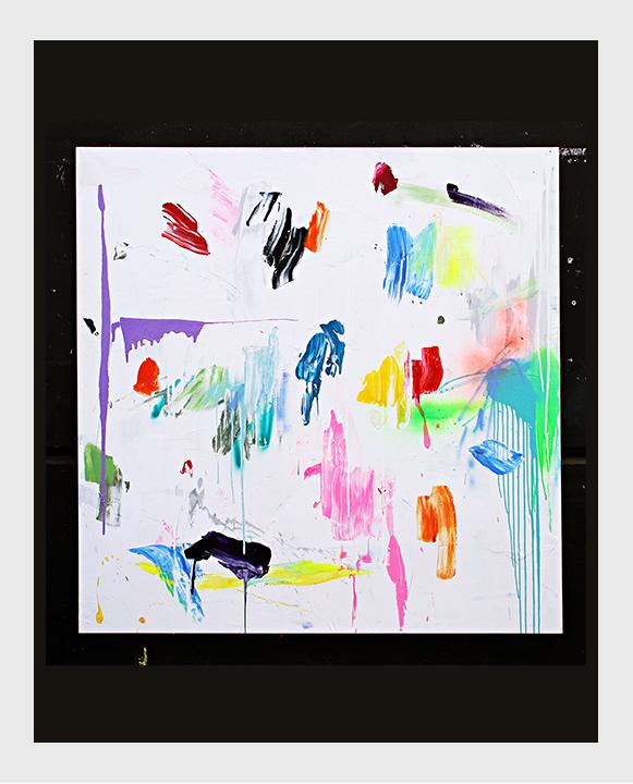 Obra final del curso de pintura abstracta