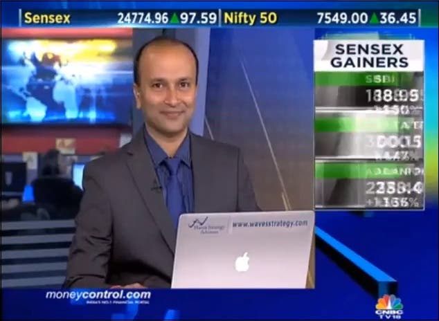 CNBC TV18 Ashish Kyal