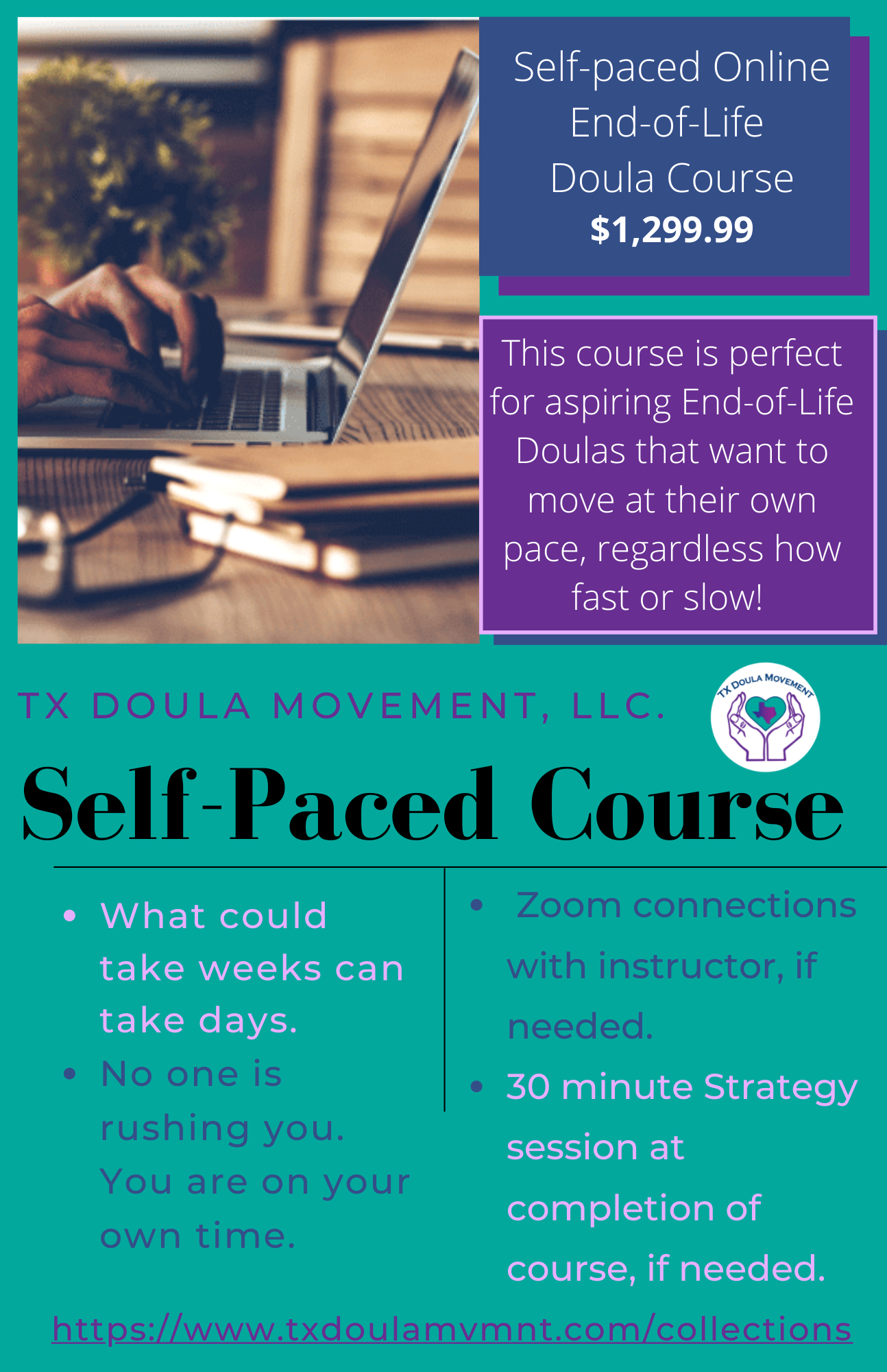 Self-Paced End-of-Life Doula Course