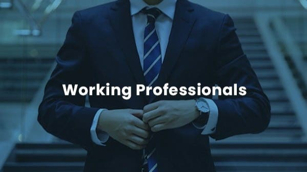 Working Professionals