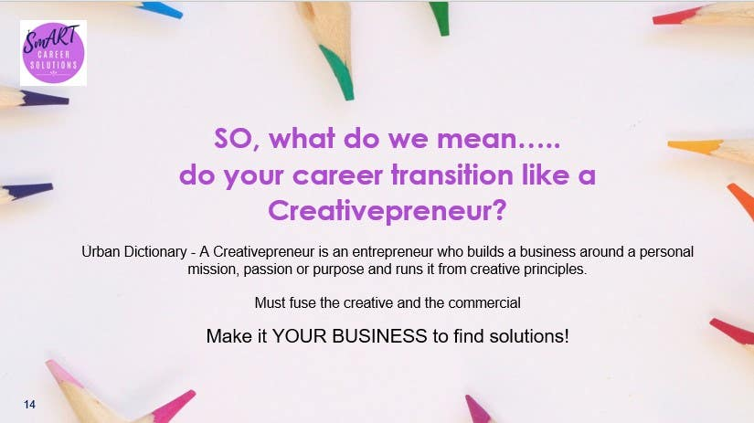 Definition of Creativepreneur