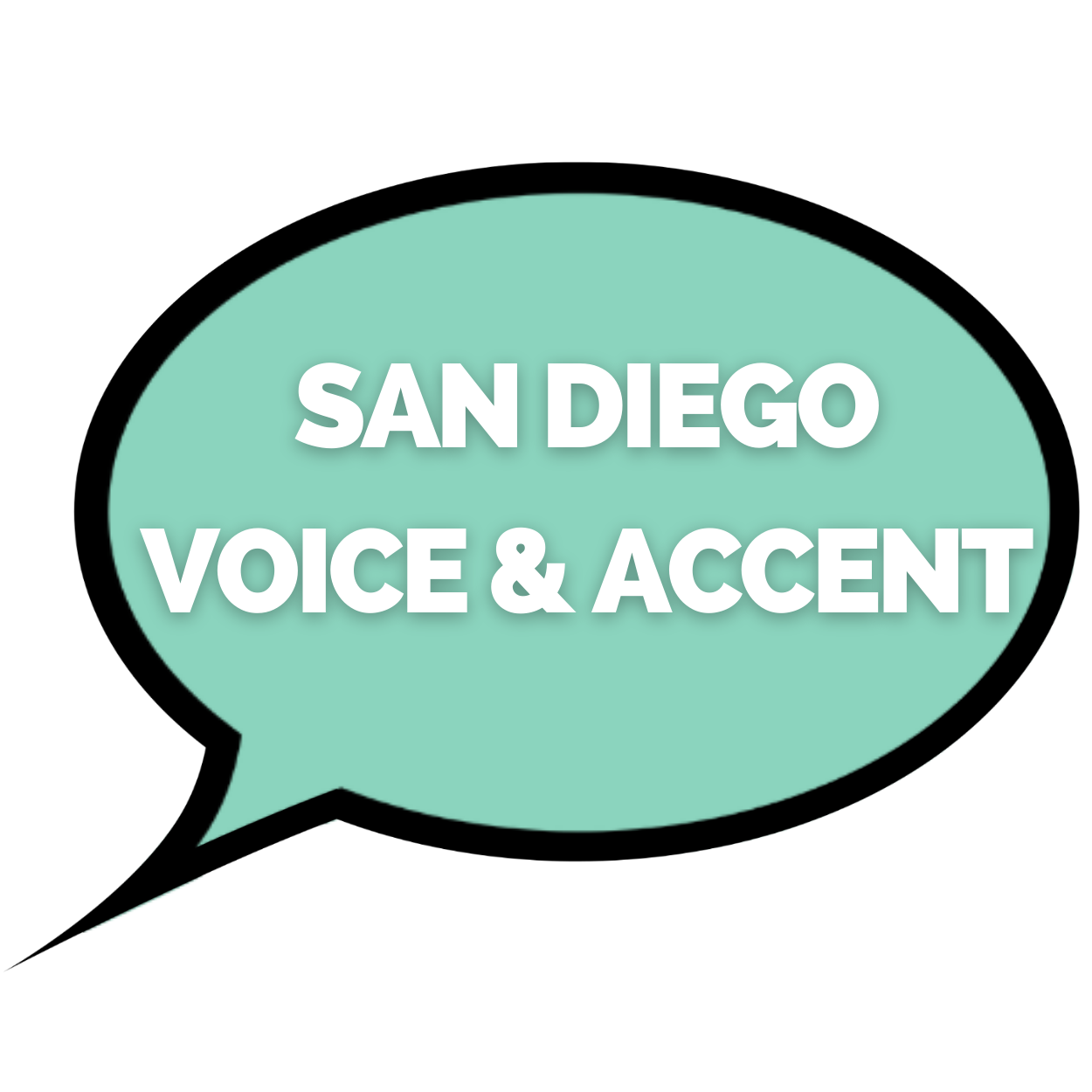 San Diego Voice and Accent Logo