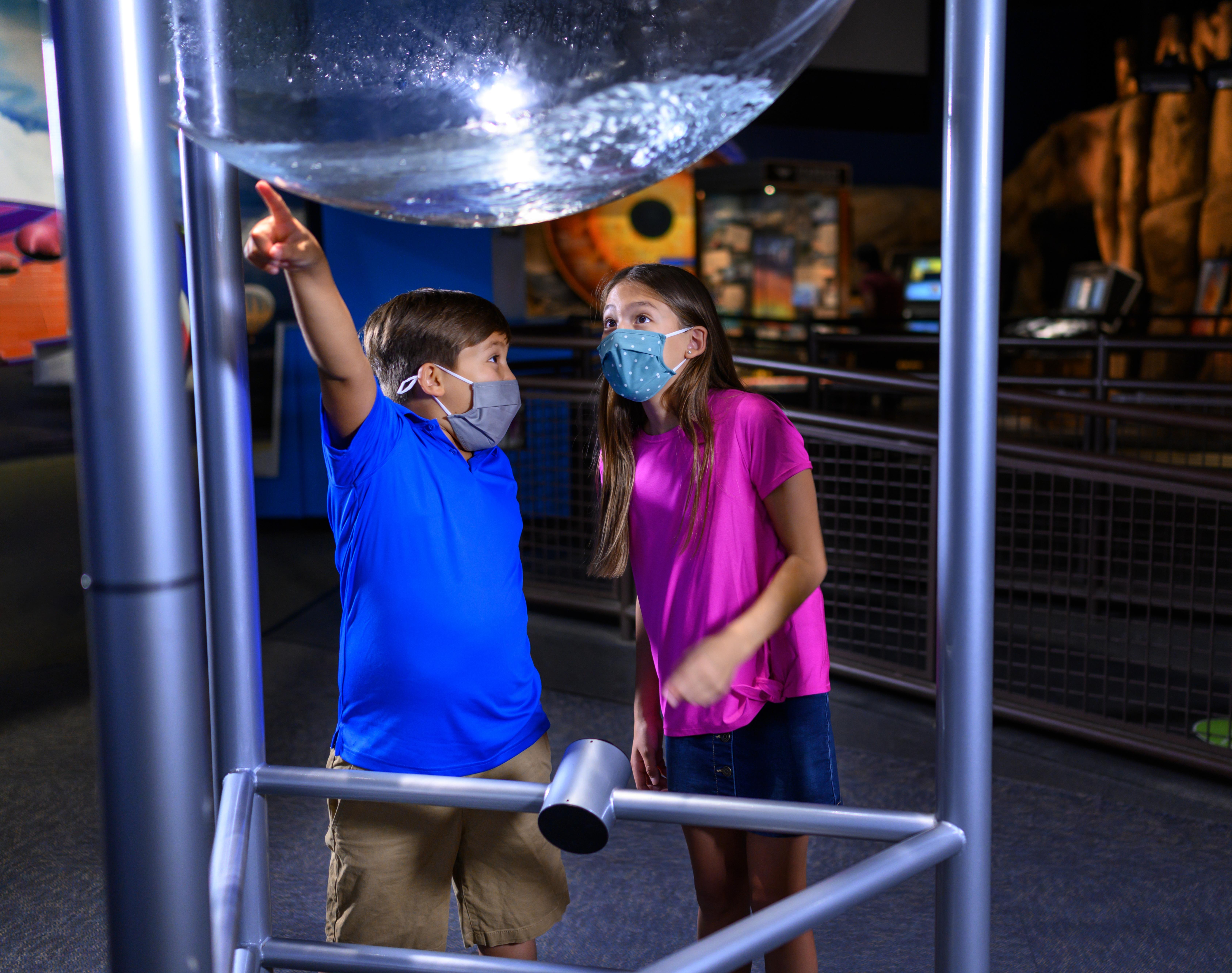 Children Exploring Arizona Science Center