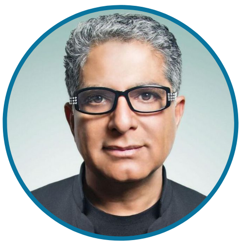 Deepak Chopra Stress and healing for anxiety or weight loss health