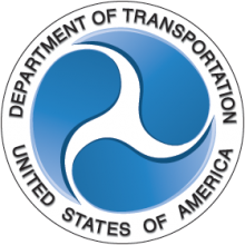 Federal Government, Department of Transportation Logo. effective networking strategies to help reach personal development goals