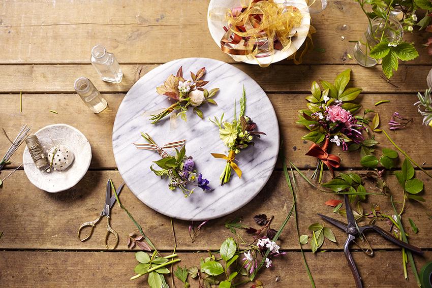 Wedding Buttonholes Photo Aesme Studio