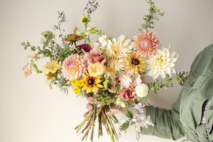Wedding bouquet by Aesme Studio London