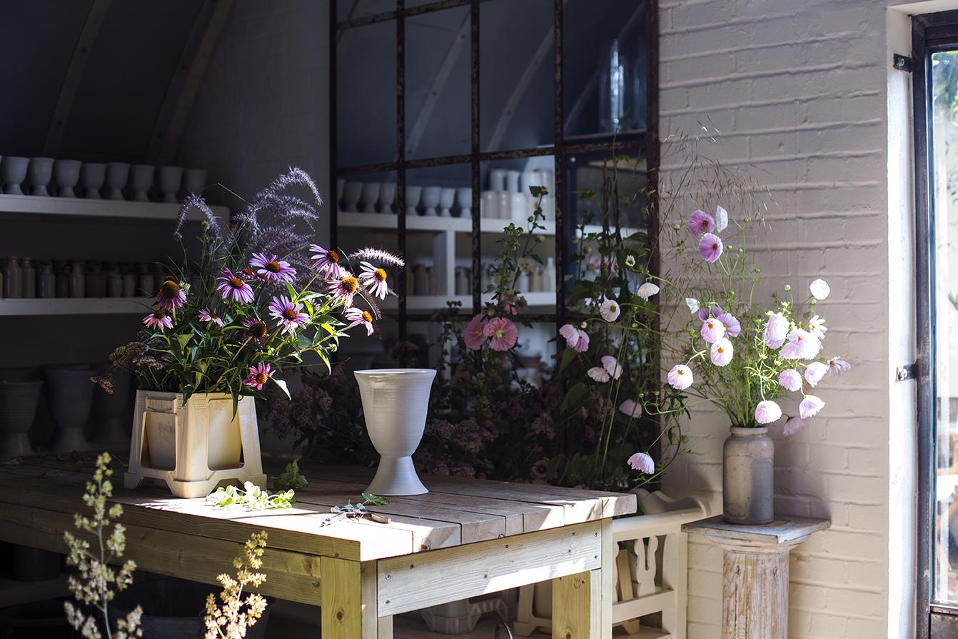 Flower studio London Photo Aesme Studio