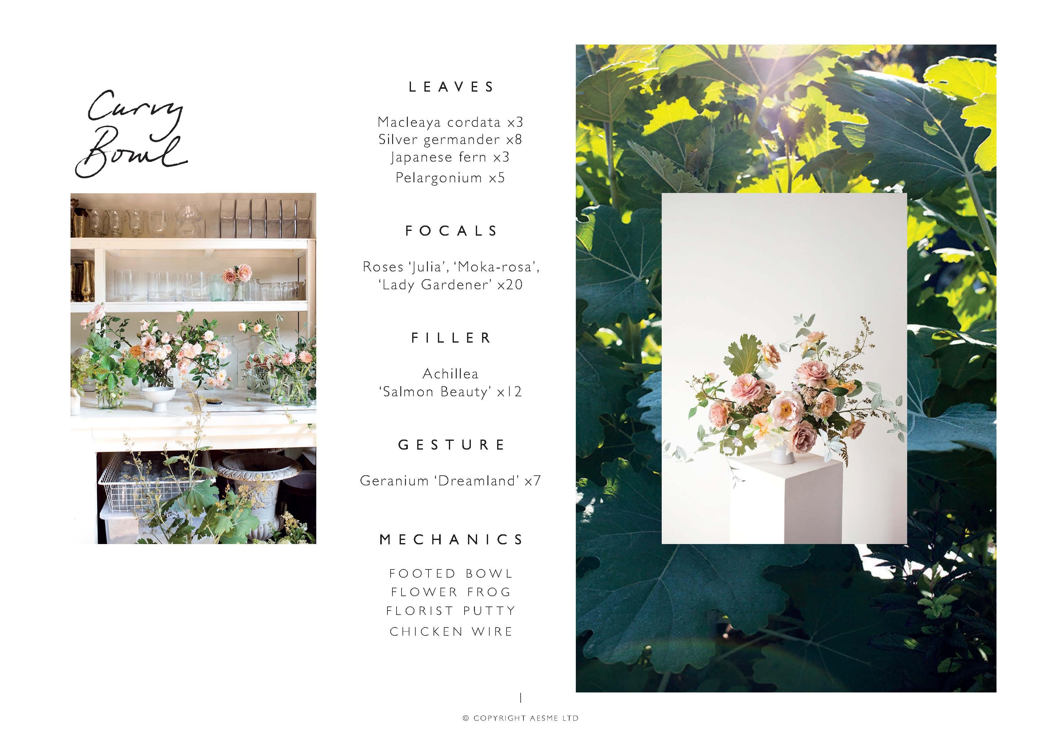 Flower arranging class Photo Aesme Studio