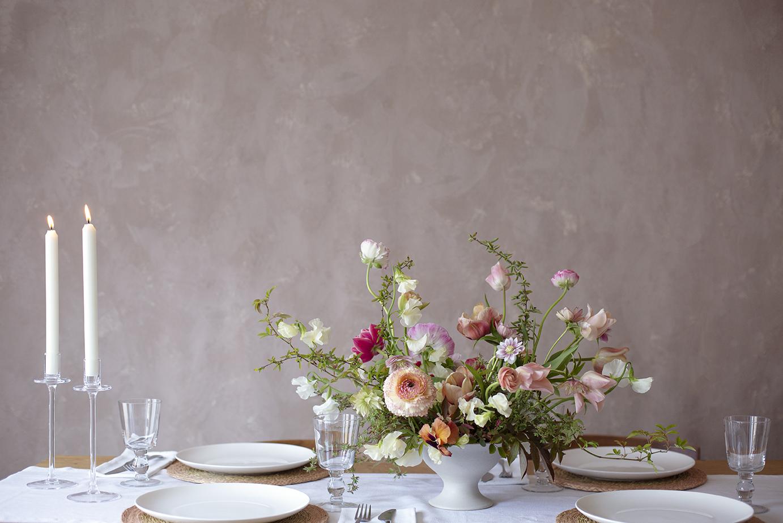 Wedding Table Flowers Photo Aesme Studio