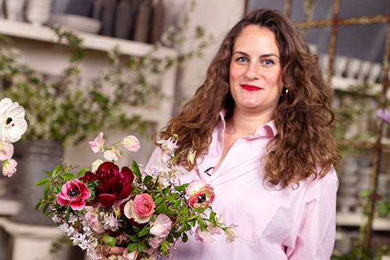 Romantic Bridal Bouquet Photo Aesme Studio