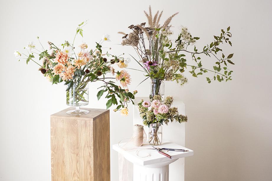 Autumn flowers for class Photo Aesme Studio
