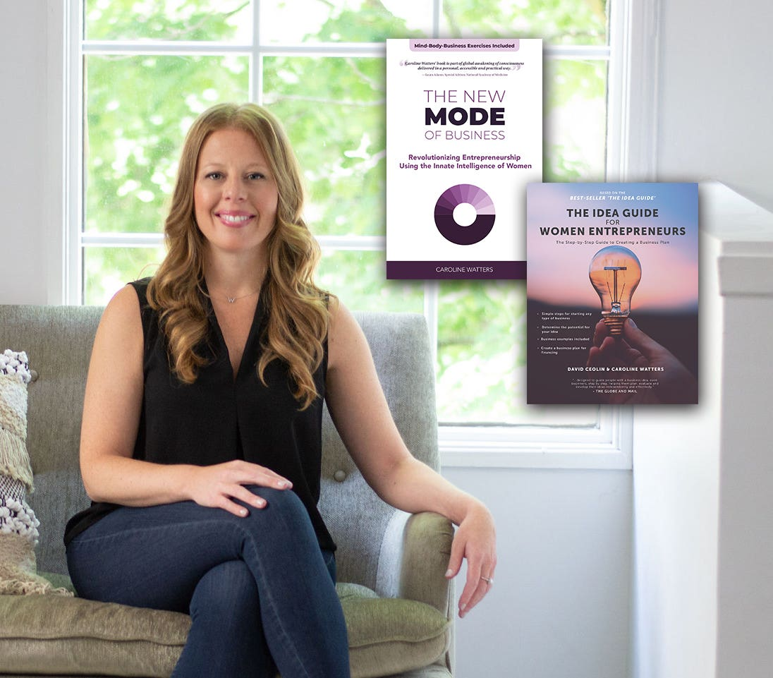 Image of Mode's Founder, Caroline Watters