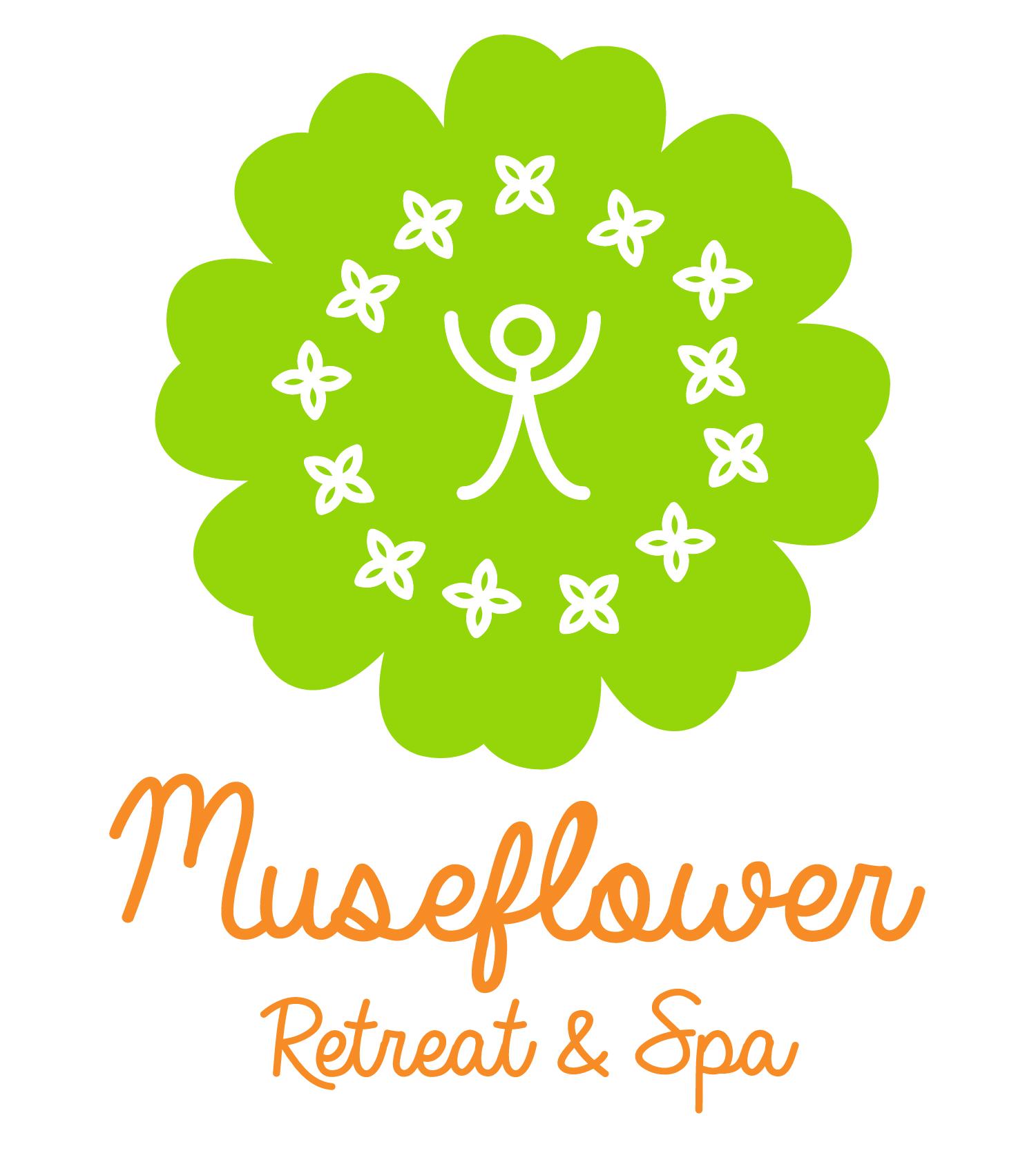 museflower retreat and spa logo