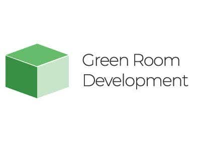 green cube and company name Green Room Development