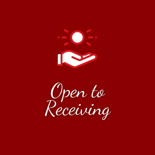 Open to Receiving logo