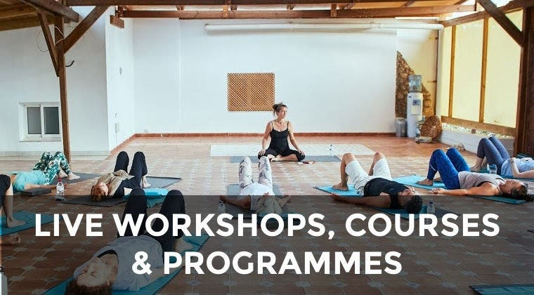 LIVE courses, programmes and workshops