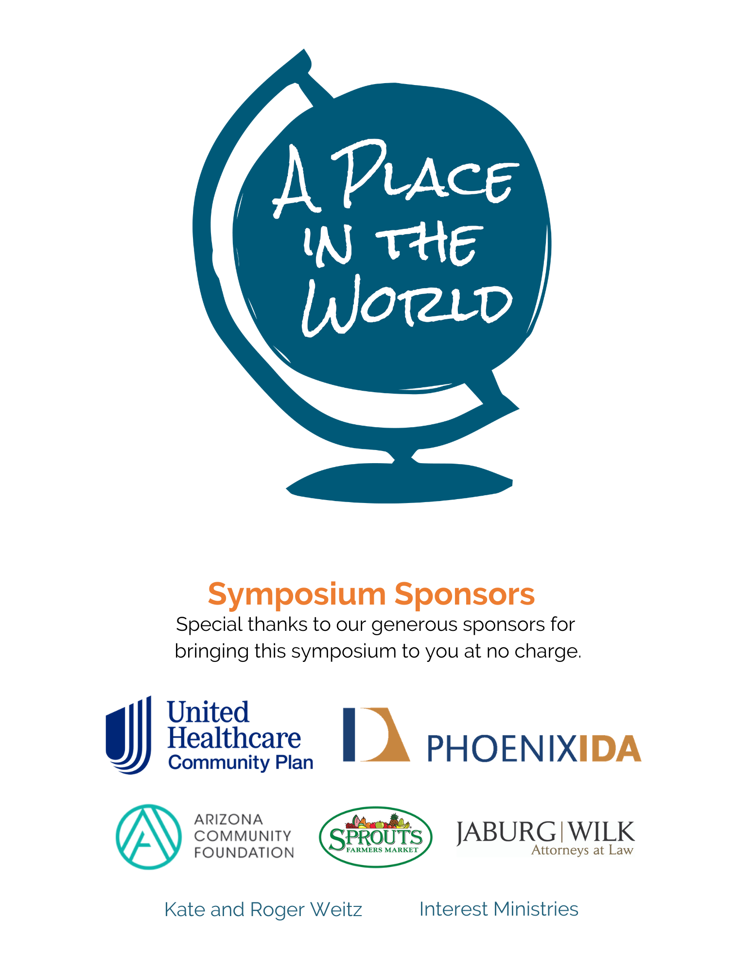 A Place in the World Logo