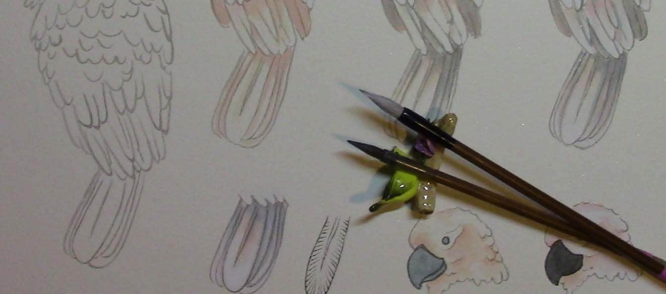 Gongbi brushes