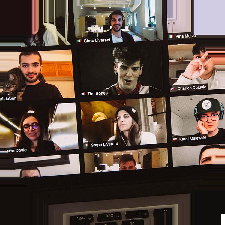 Celebrity Masterclasses on Zoom with iampro