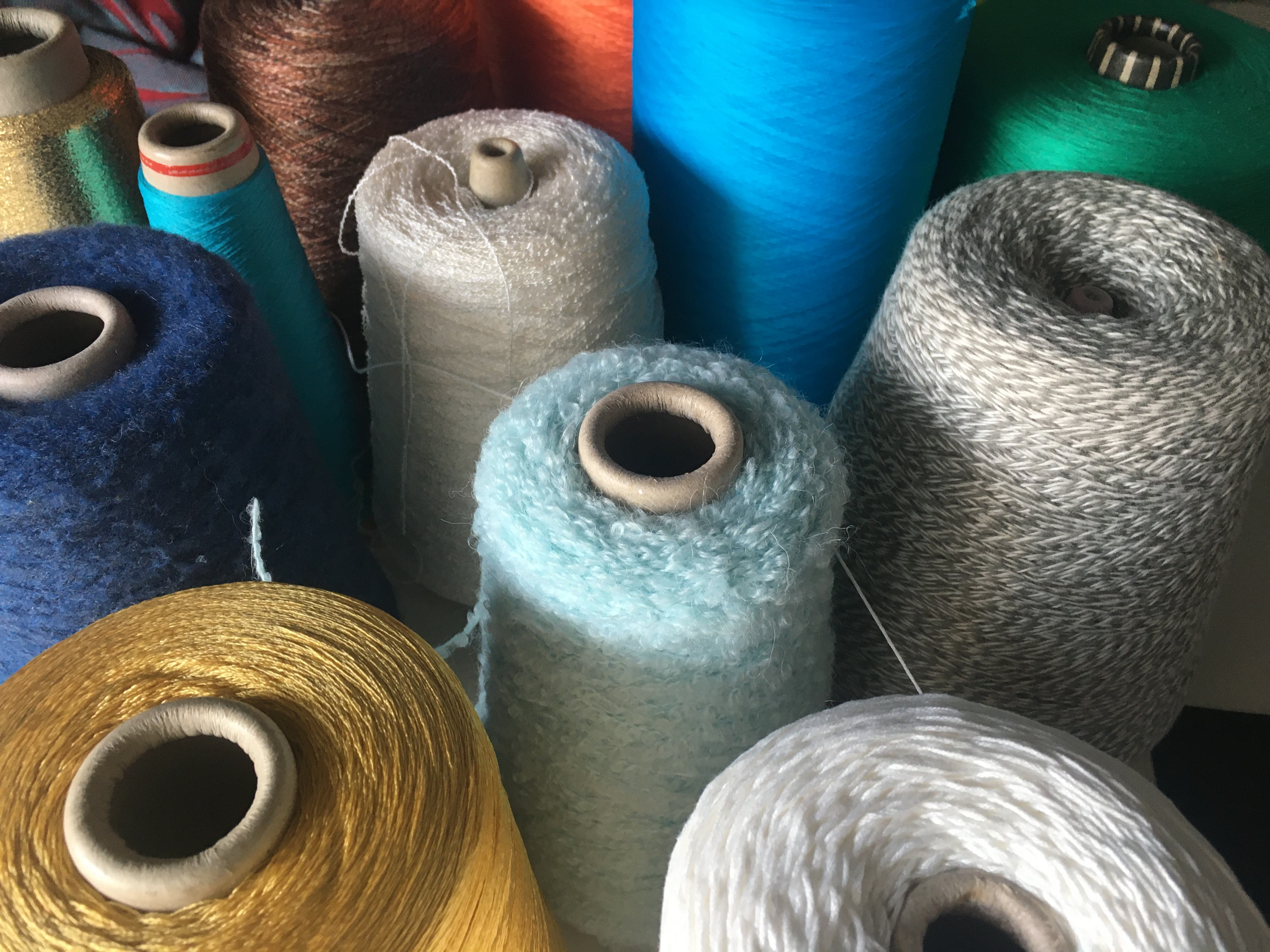 How many types of yarn are there?