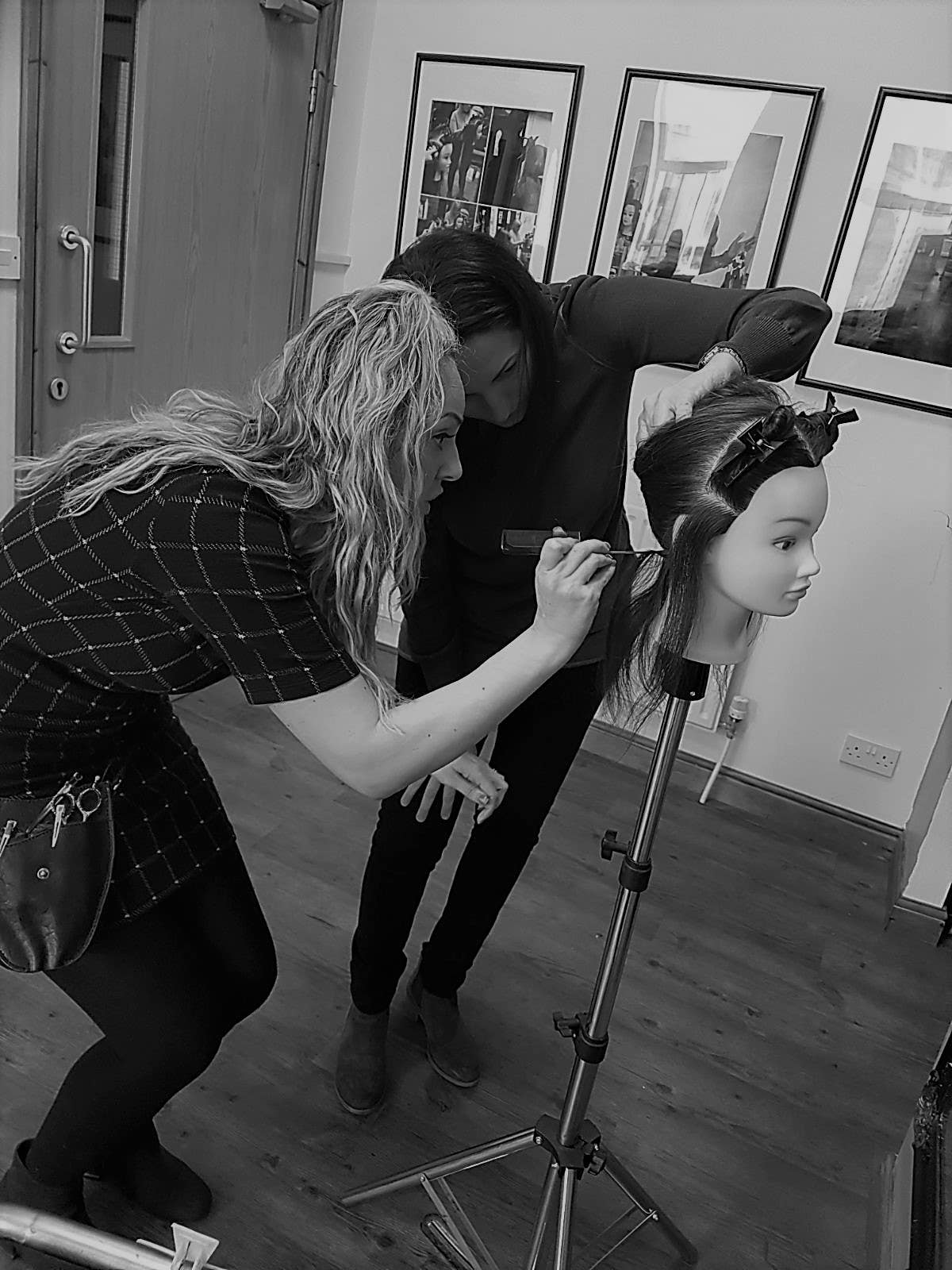 121 hair extension training course