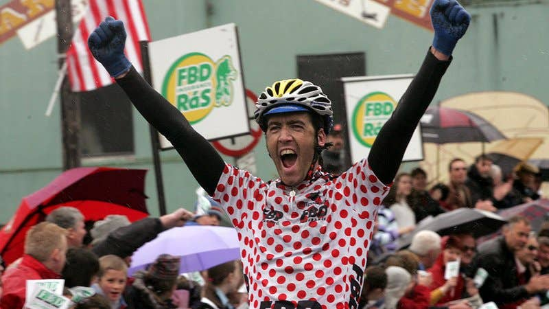 Ciaran Power • former pro-cyclist, Double RAS winner and two time Olympian