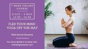 Flex your mind off the mat