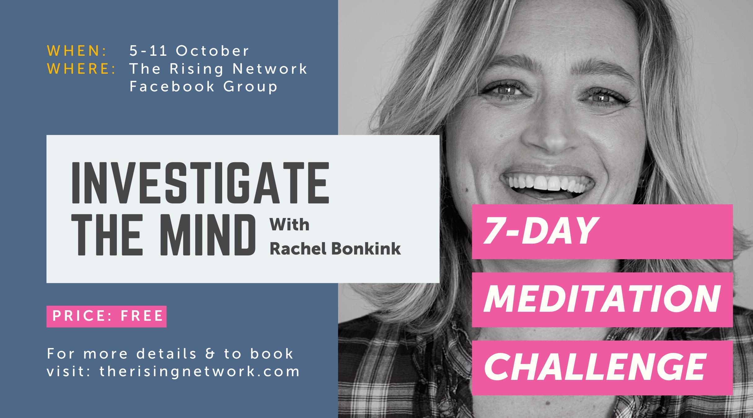 Investigate the mind Rachel Bonkink