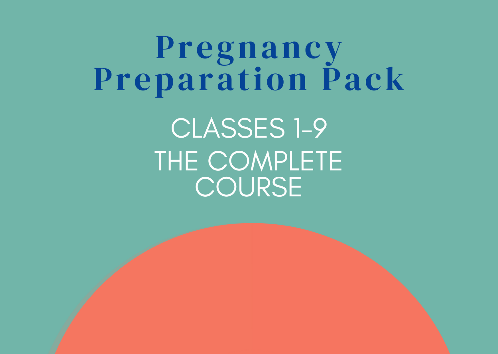 Your Pregnancy Preparation Pack
