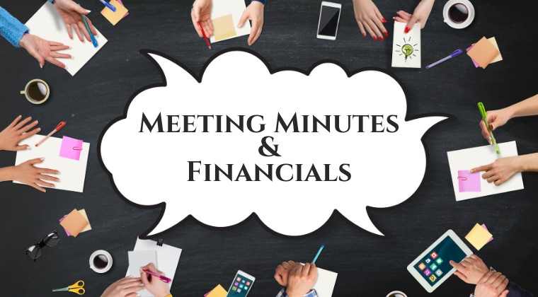 Board Meeting Minutes & Financials