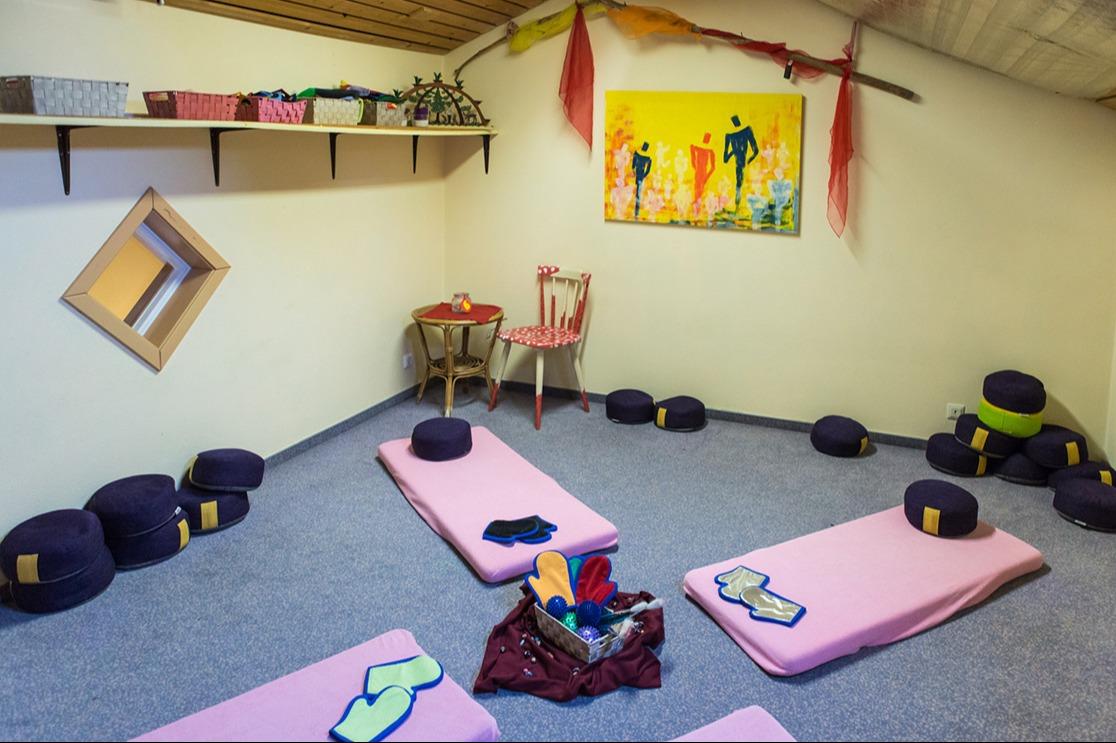 Massage Wohlfühlen Kindergarten