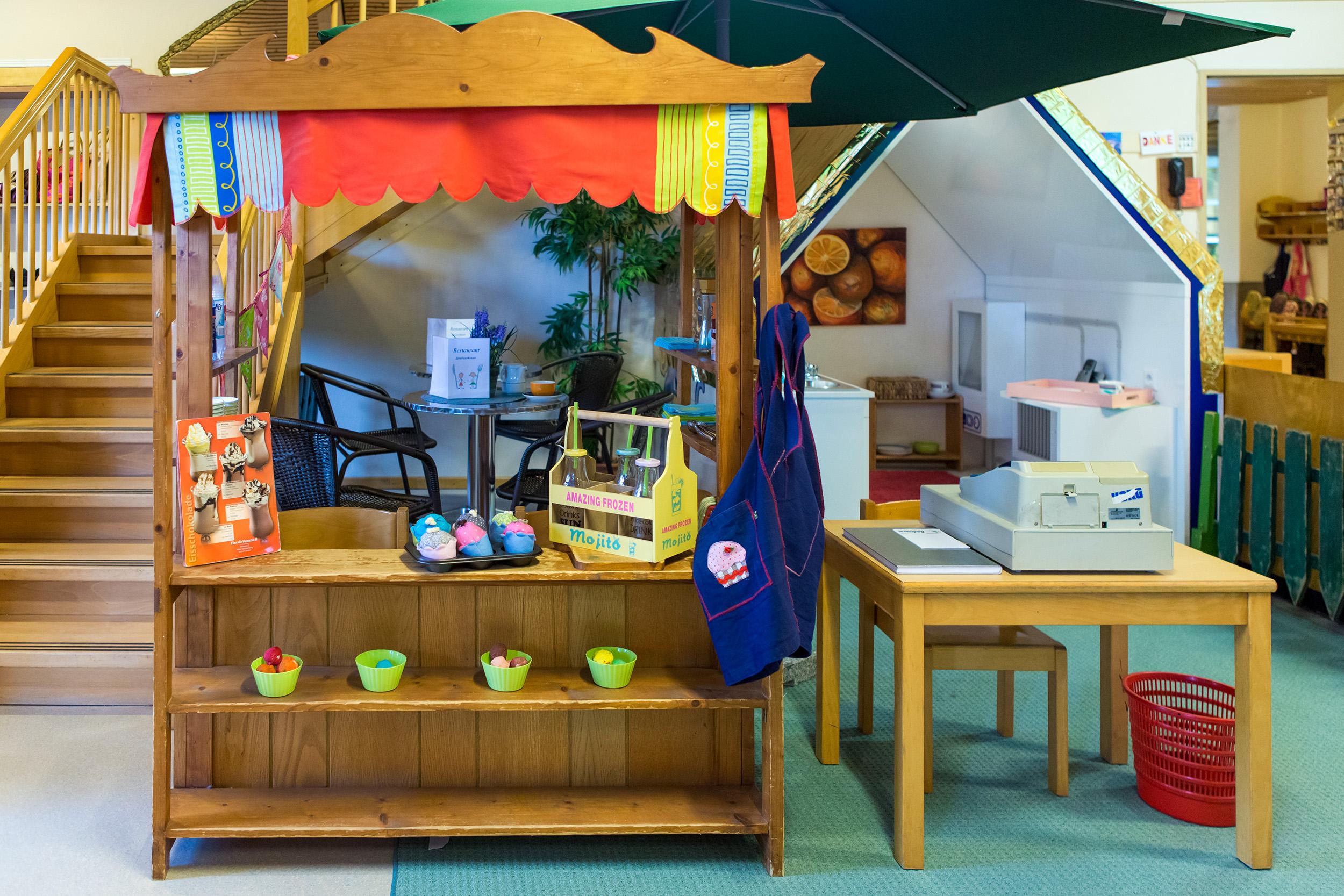 Markt Kita Rollenspiel Kindergarten