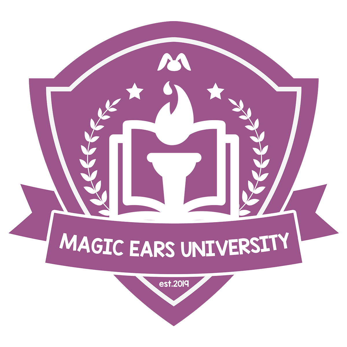 Magic Ears University logo crest