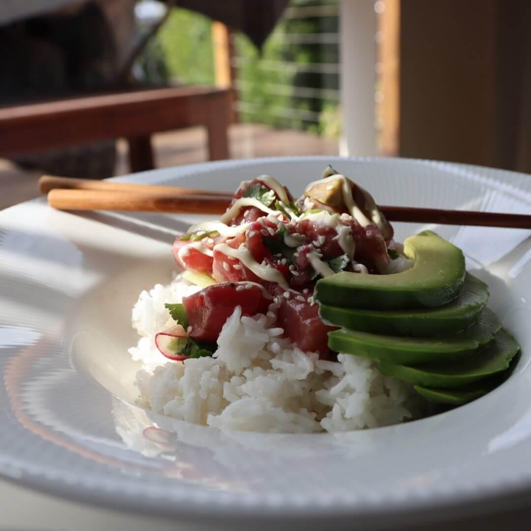 Ceviche & Coconut Rice