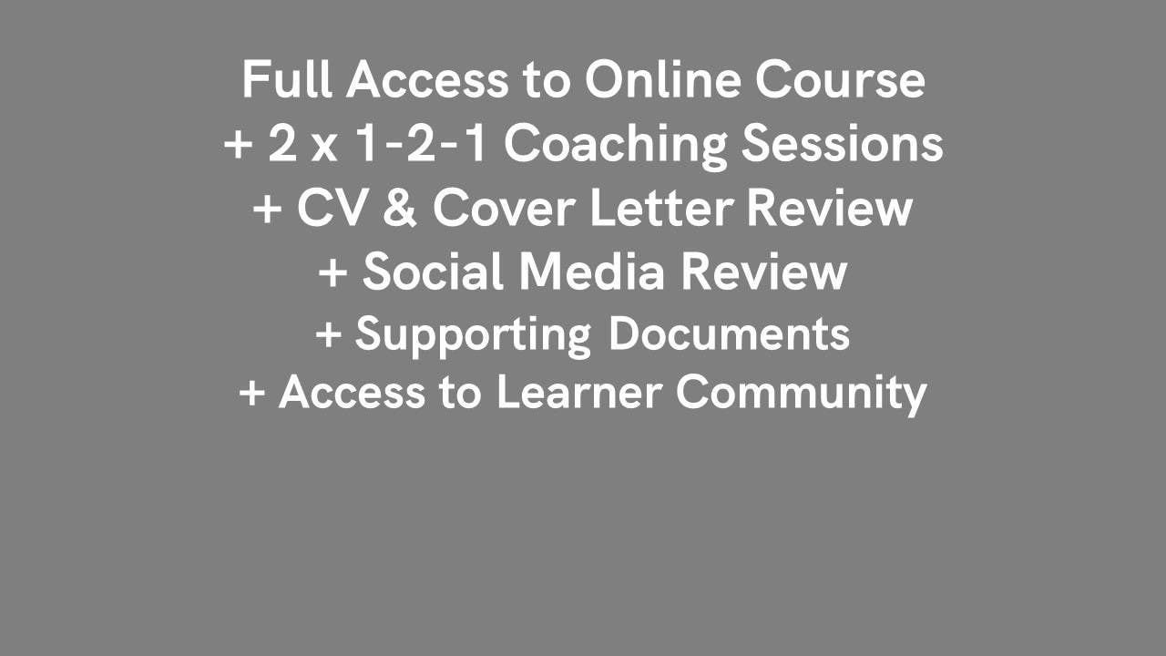 The Employability Course - Silver Package Careers Course