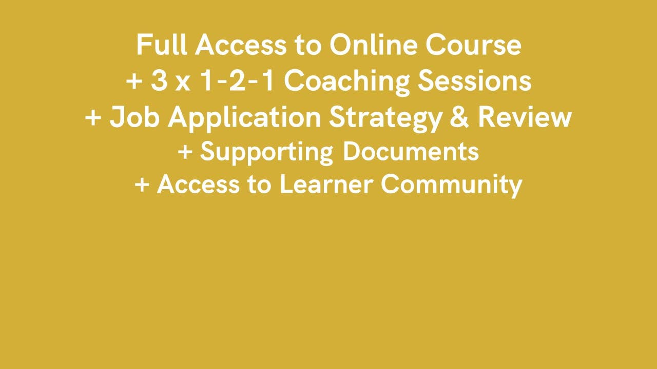 The Employability Course - Self-Paced Online Careers Course