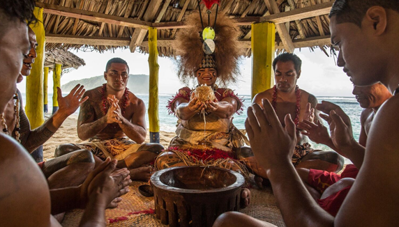 The Holy Communion of the Kava Ceremony