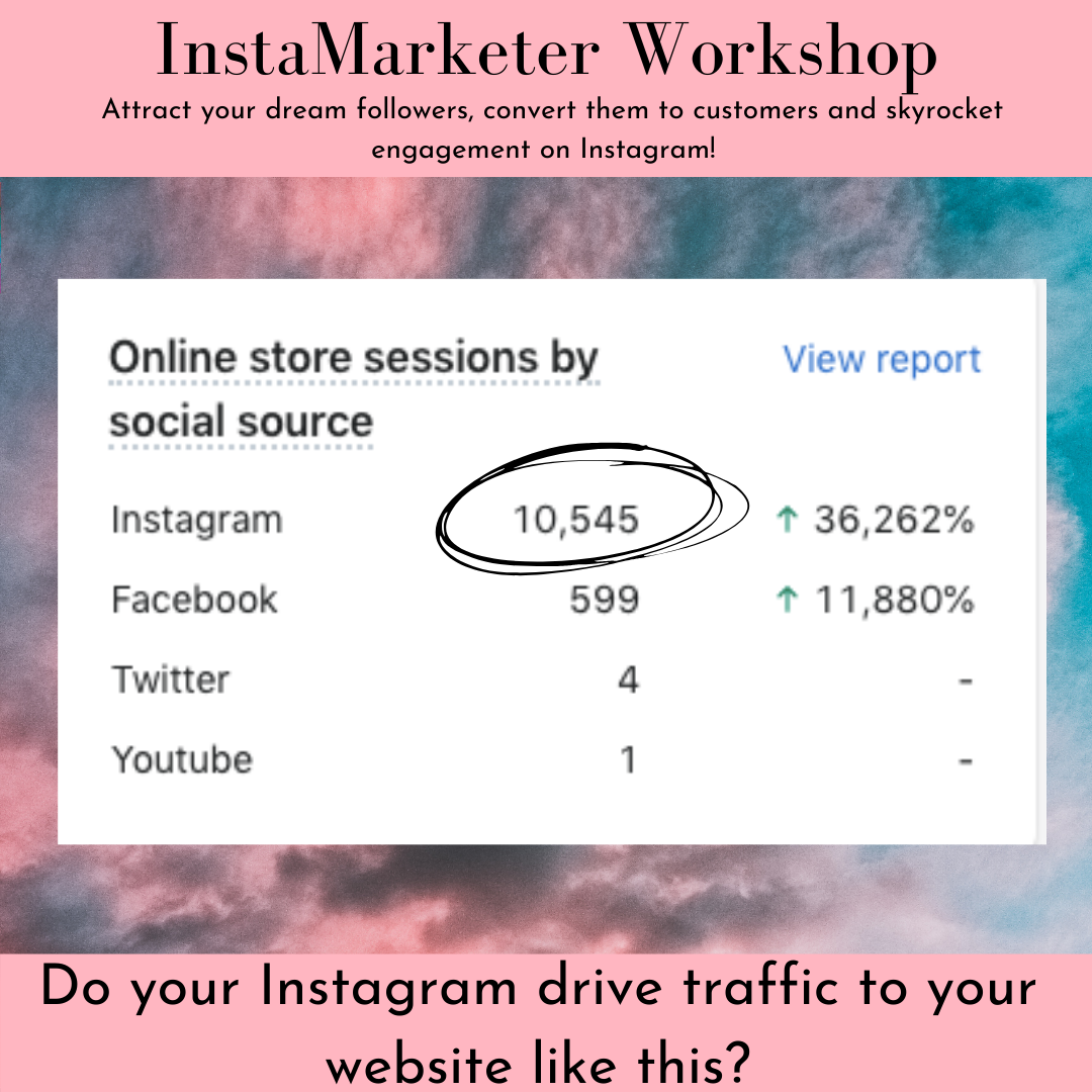 driving traffic to your website from instagram