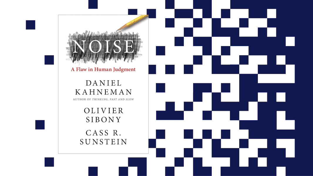 Noise, the book by three experts on a much-ignored flaw in human judgement