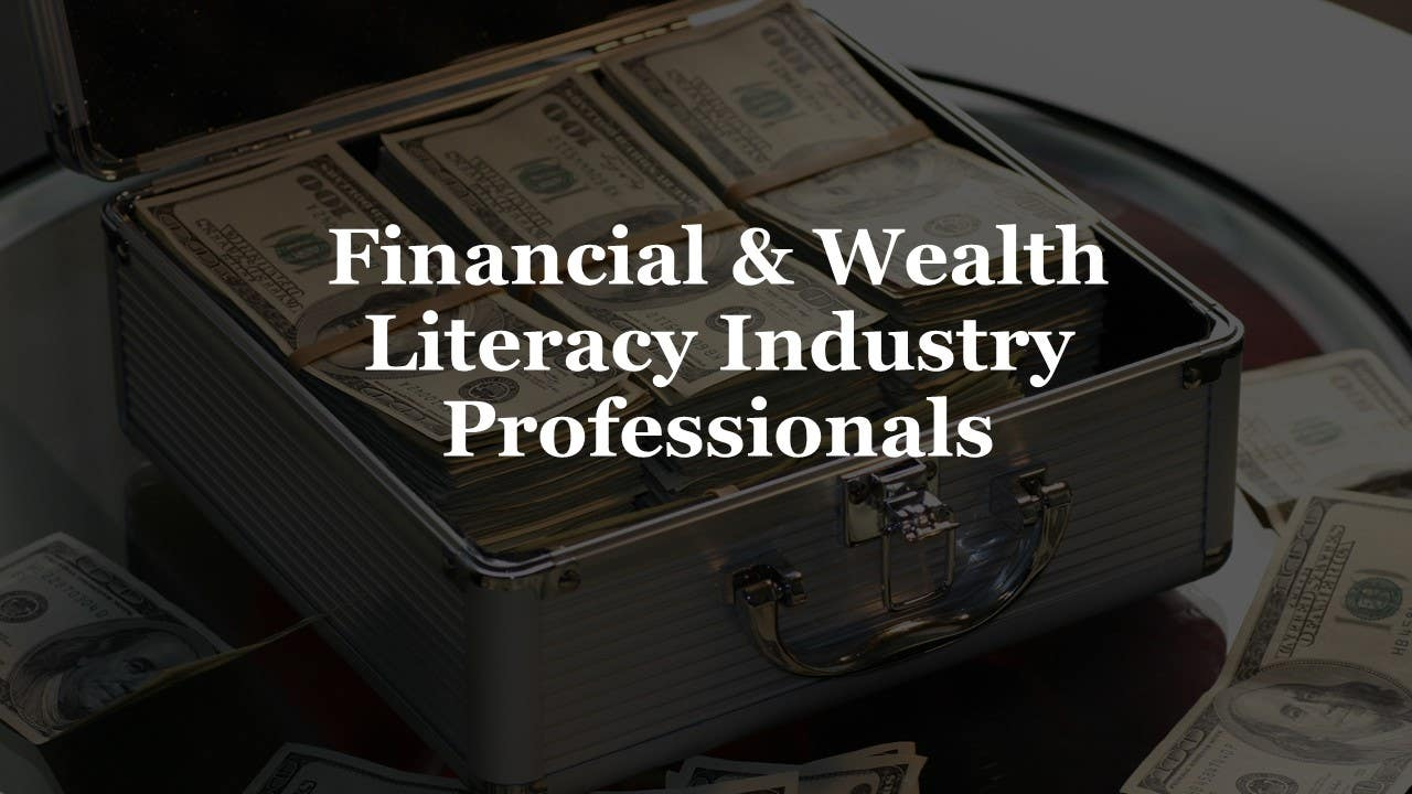 Financial Services Industry Professionals