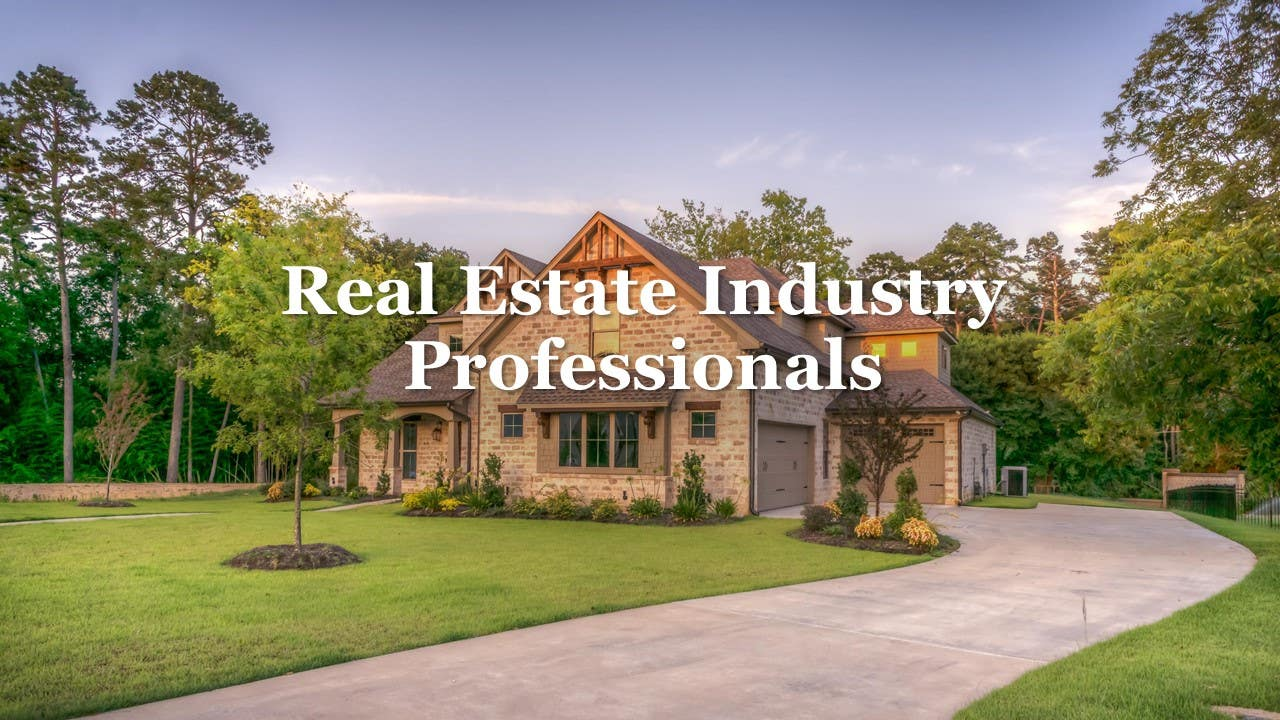 Real Estate Industry Professional
