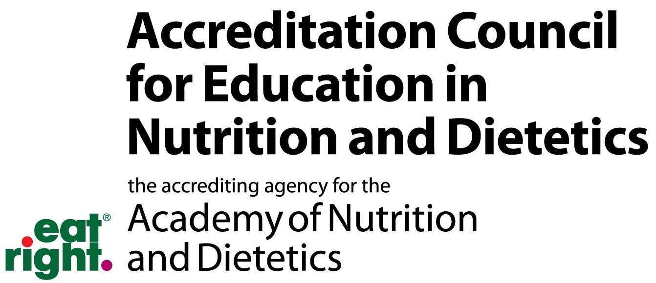 Accreditation Council for Education in Nutrition and Dietetics