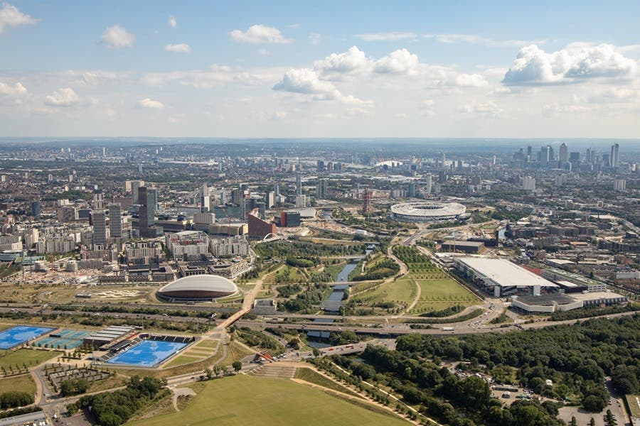 Image of the Queen Elizabeth Olympic Park