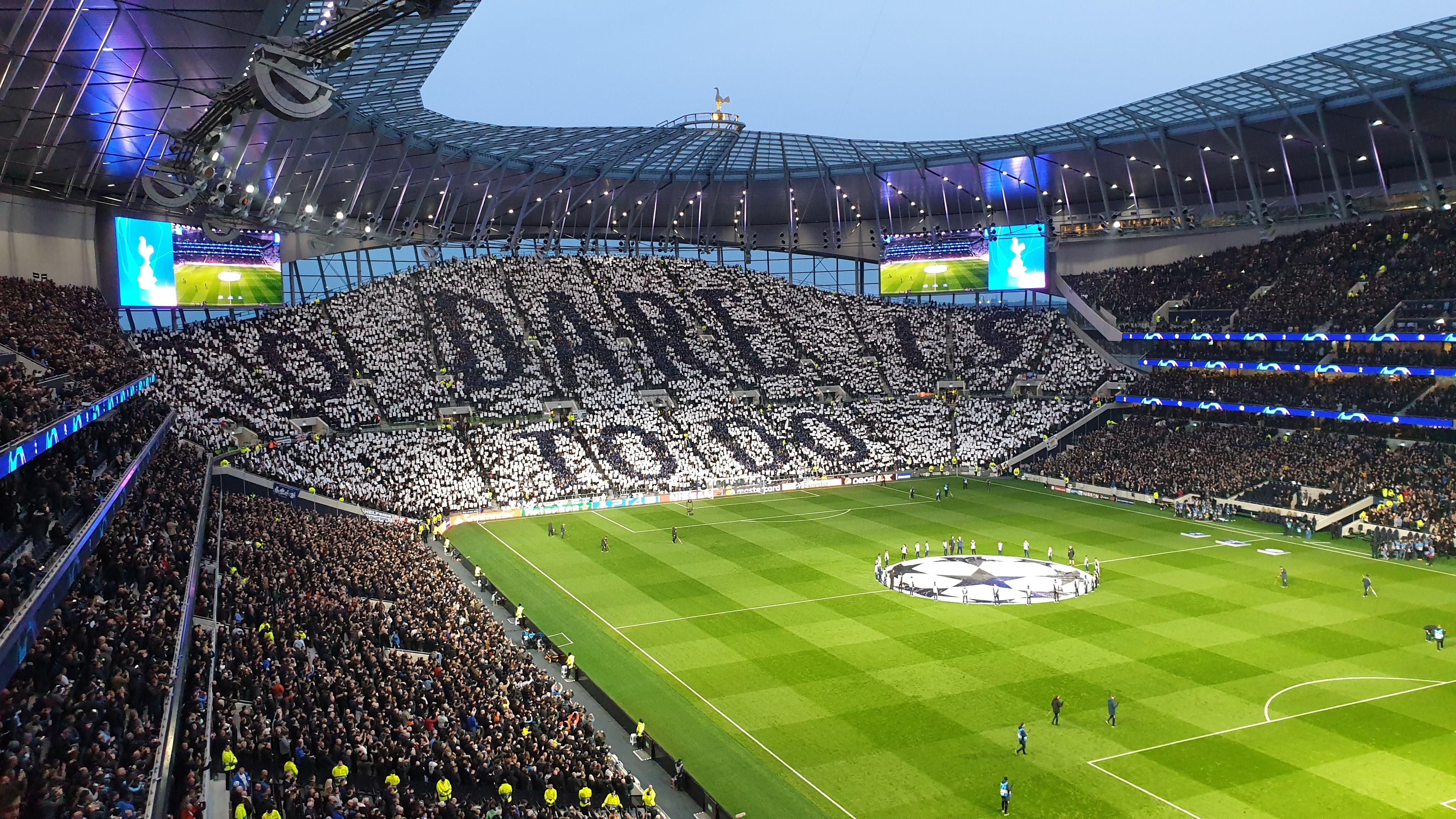 Image of Tottenham Hotspur stadium