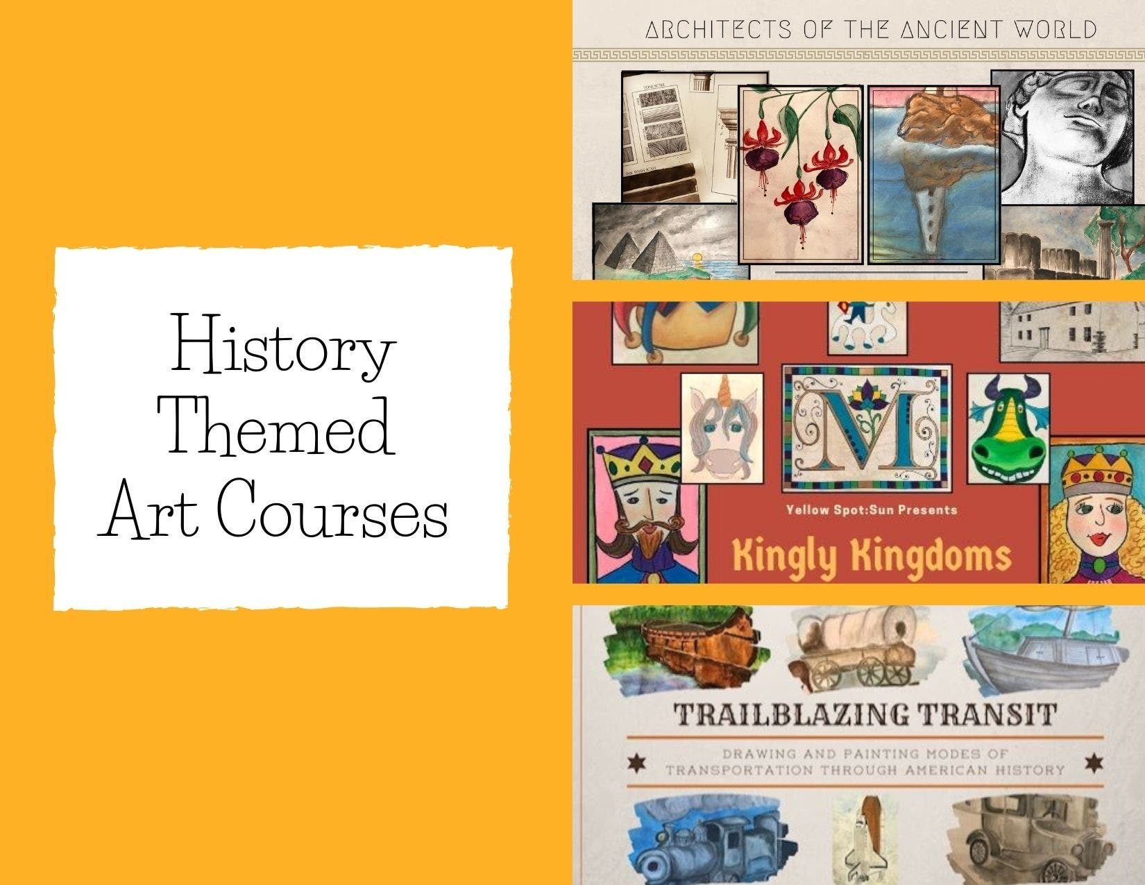 History Themed Art Courses