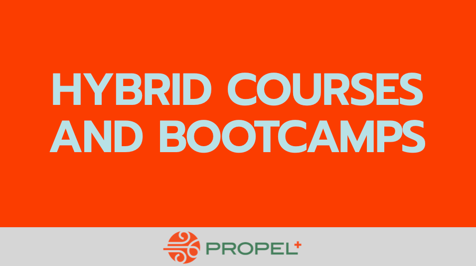 Hybrid Courses & Bootcamps
