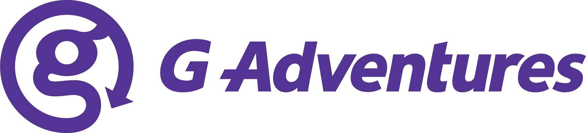 Logo for G Adventures.